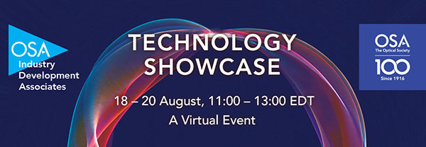 Join Intlvac at OIDA's Technology Showcase - A Unique Presentation, Discussion & Networking Event